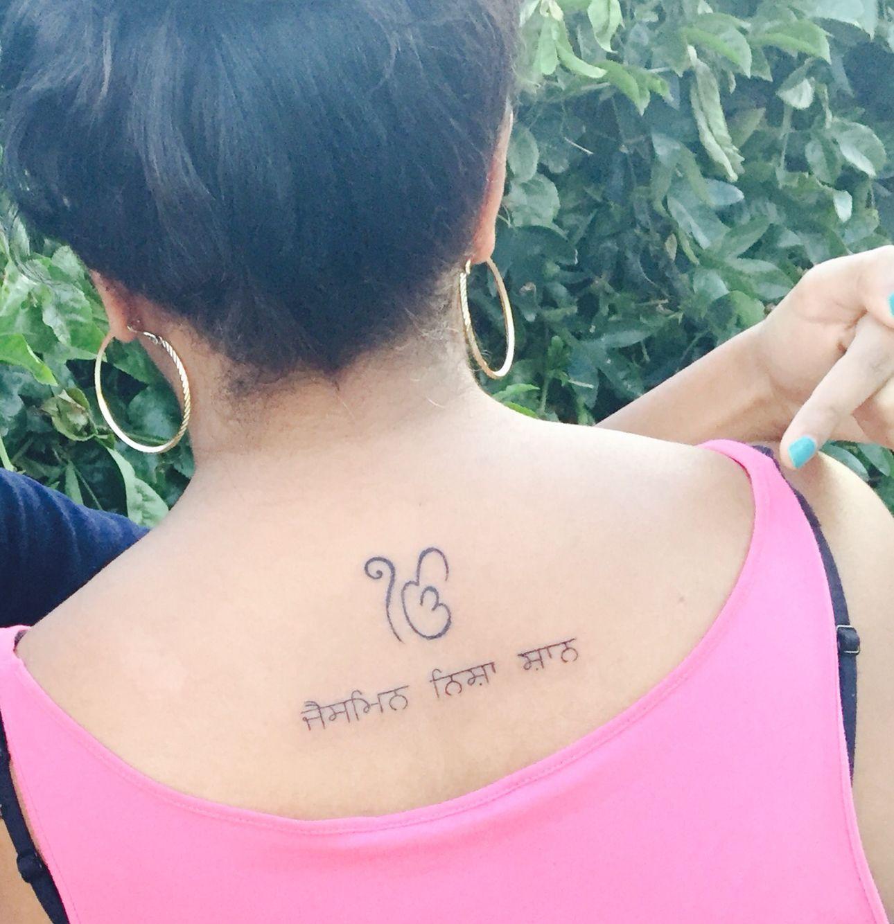 Tattoo Ideas In Punjabi: Punjabi Tattoo