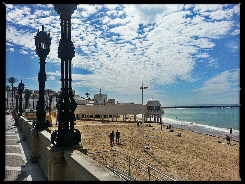Playa de la Caleta, Cadiz aftersummer october 2013