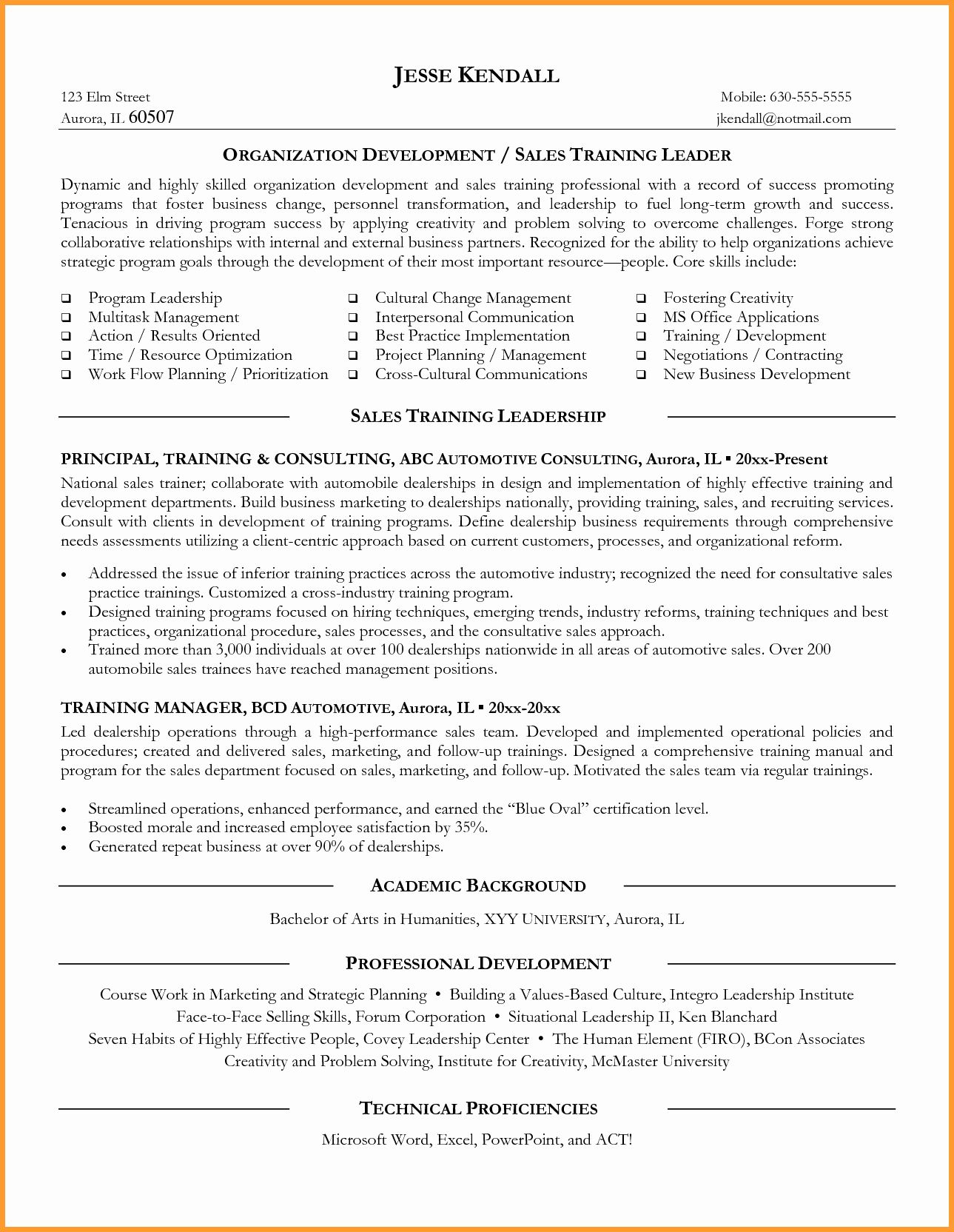 20 Personal Trainer Job Description Resume (2020