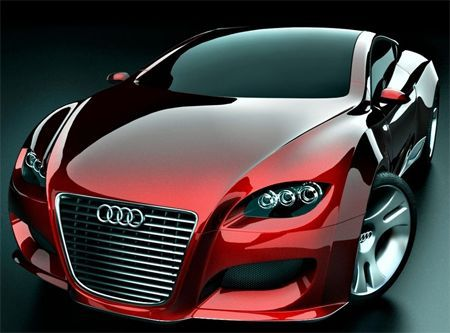 Concept car by Audi. This is the Locus.