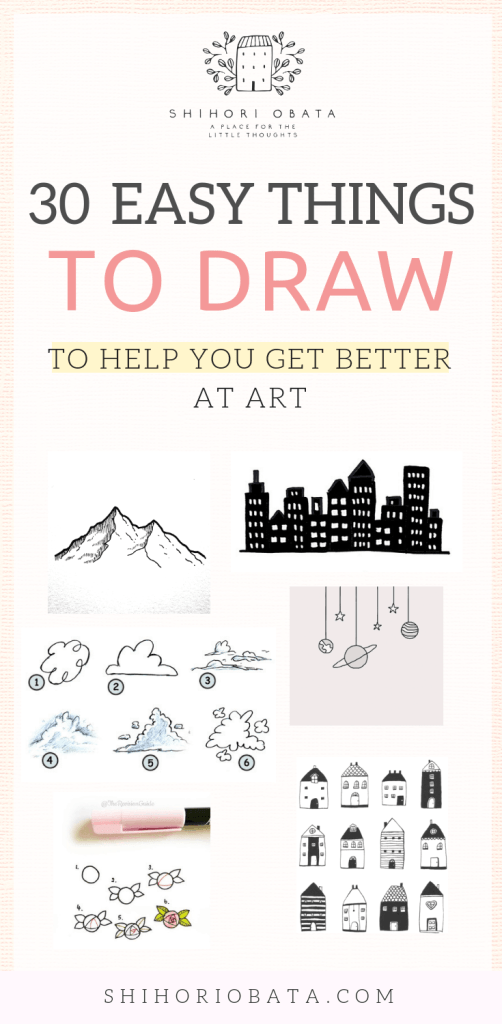 30 Cool & Easy Things to Draw to Get Better at Art