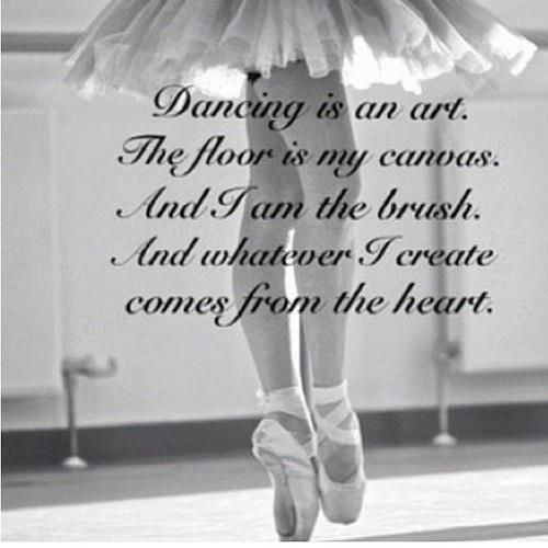 Dancing is an art | Dance Quotes | Dance quotes, Dance