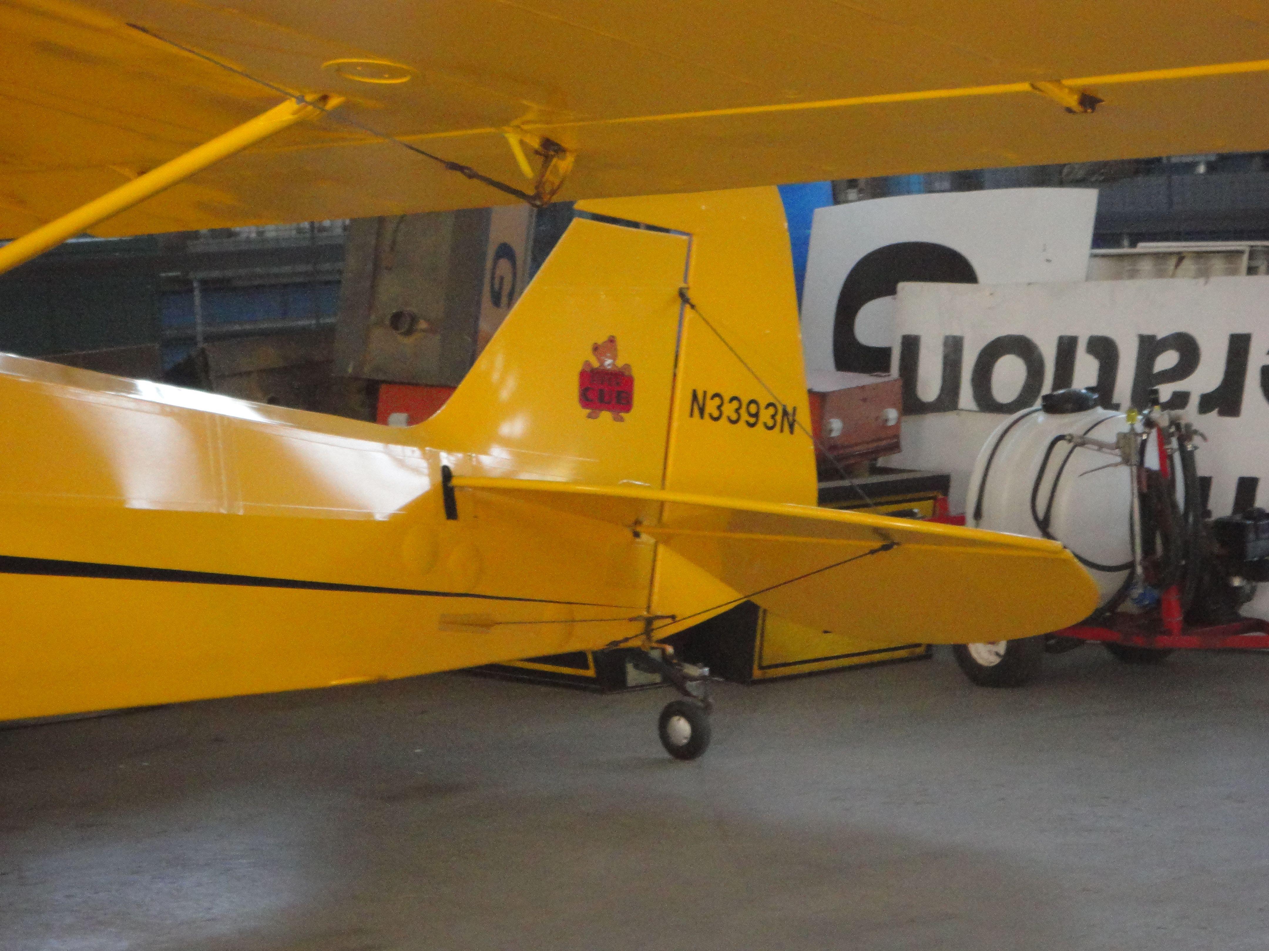Piper cub j3 has the symbol of the piper cub on the back wing piper cub j3 has the symbol of the piper cub on the back wing buycottarizona Gallery