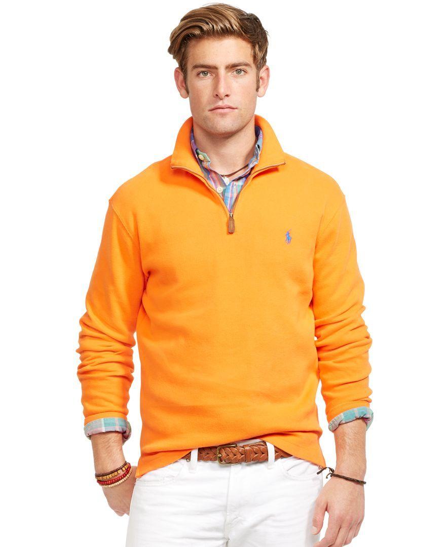 Polo Ralph Lauren French-Rib Mockneck Pullover