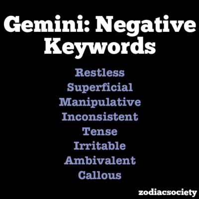 astrology gemini qualities