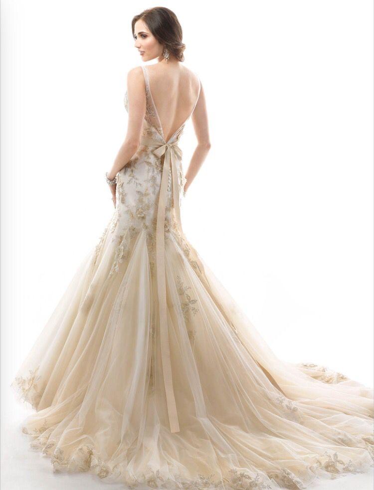 Maggie Sottero wedding gown  in 'Montice'