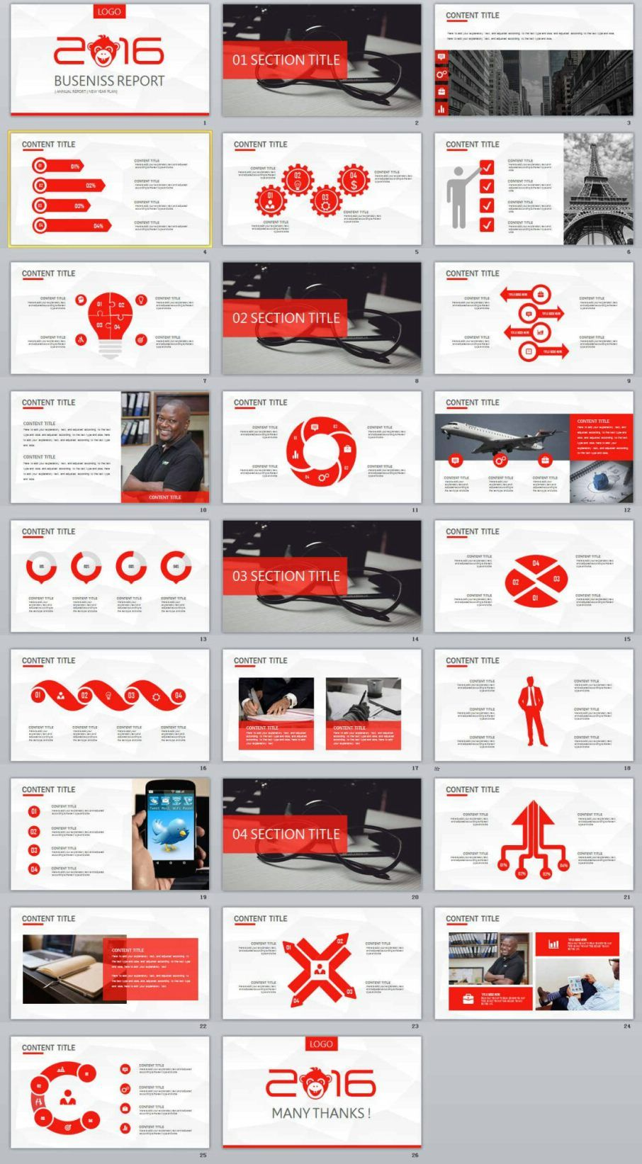 26 red business report powerpoint templates microsoft powerpoint 26 red business report powerpoint templates the highest quality powerpoint templates and keynote templates wajeb Choice Image