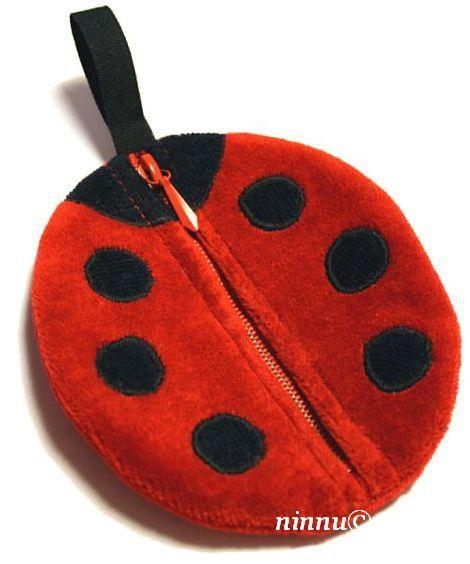 PDF Sewing Pattern Child/'s Tote Bag Toddler Tote Red Ladybug Tote Bag Pattern Red Ladybird