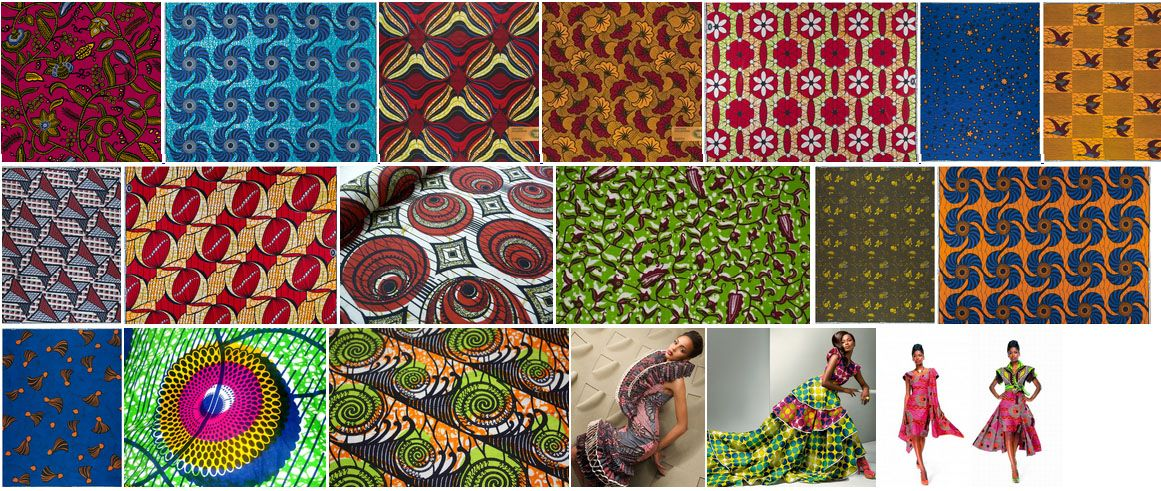 tissu africain signification