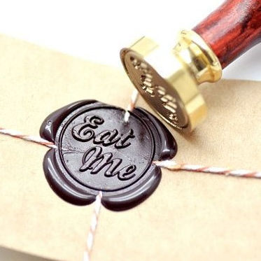 Alice In Wonderland Wax Seal Vintage Style Envelope Stamp Seal Six Things Wax Seals Envelope Stamp Wax Stamp