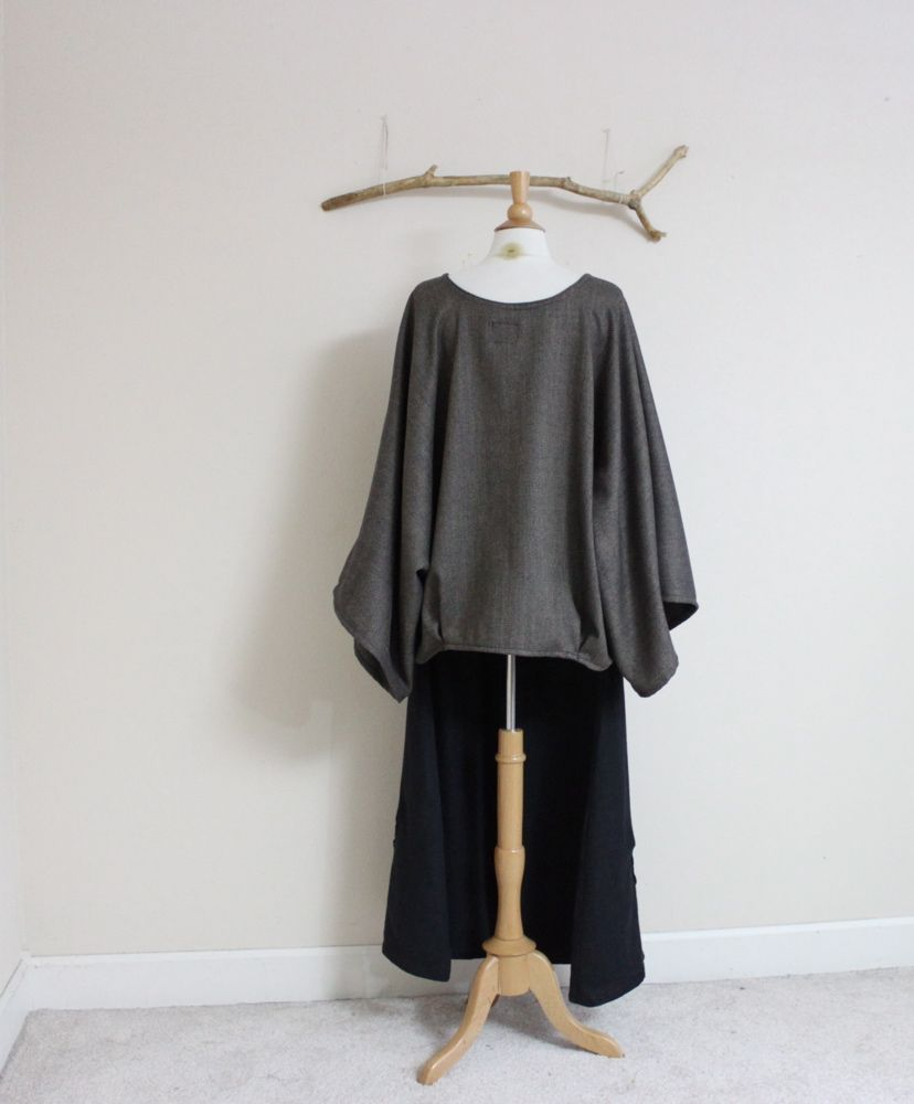 ready to ship over size wool with folds kimono sleeve top https://www.etsy.com/listing/167087123/herringbone-wool-kimono-wide-sleeve-top?ref=shop_home_active