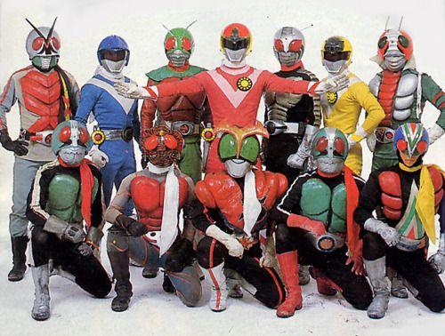 kamen rider kamen rider japanese superheroes rider strong