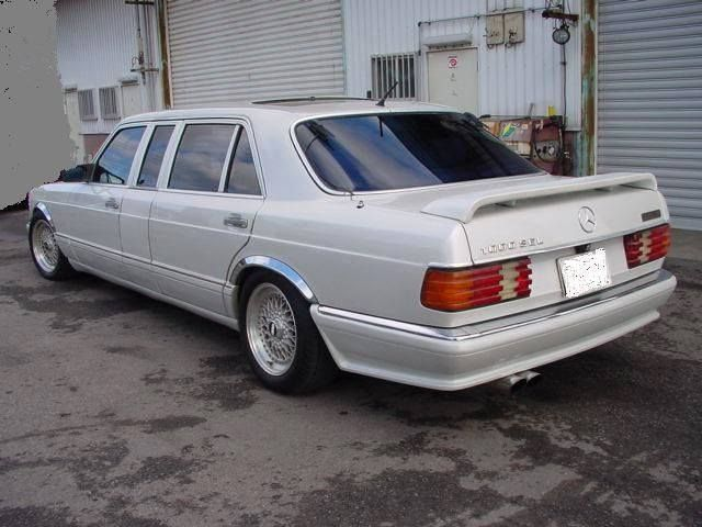 Mercedes Benz W126 stretched