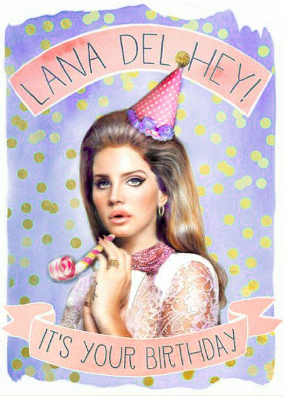Happy Birthday To The Queen Of Alternative Ms Lana Del Rey