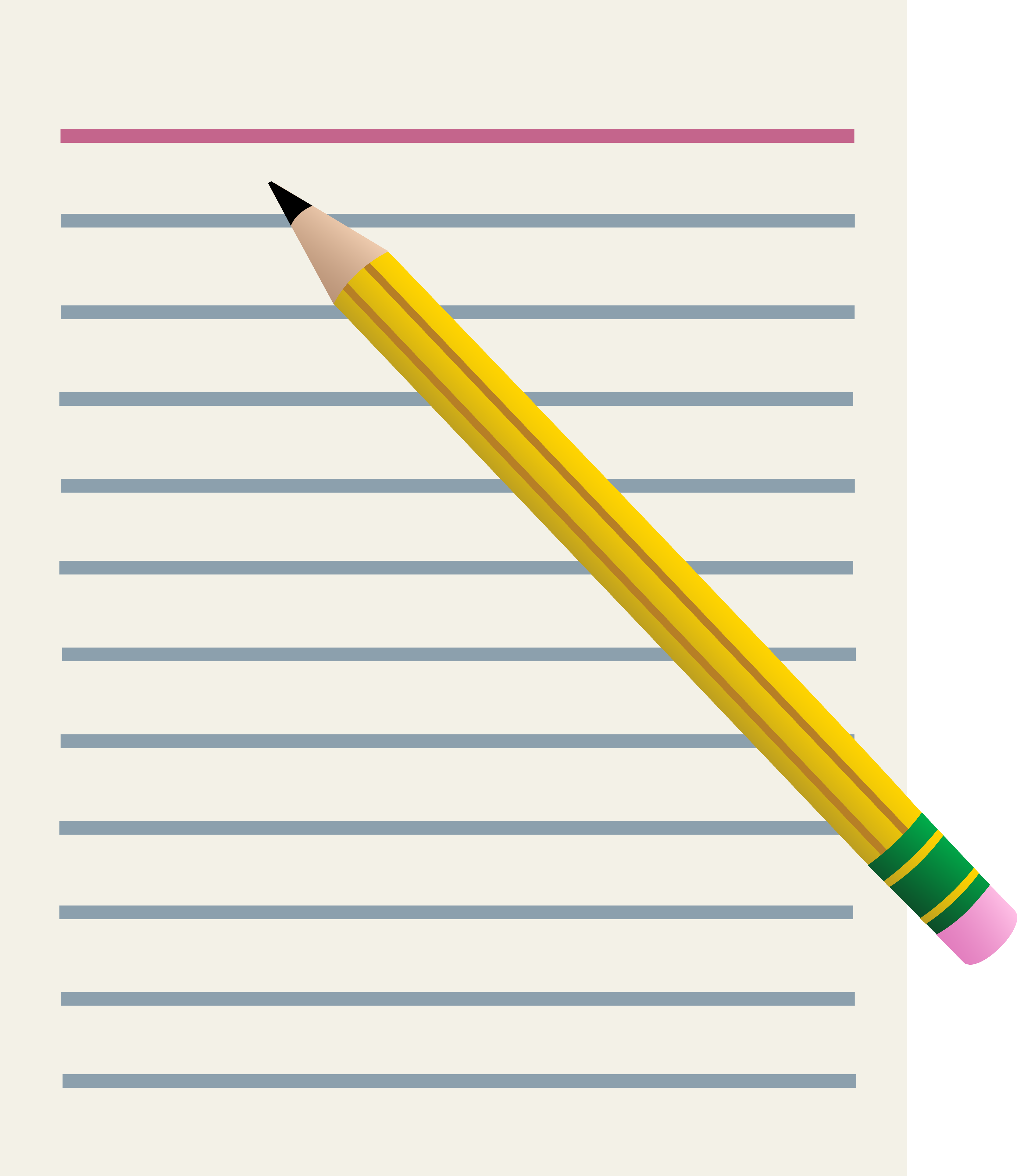 small resolution of paper pencil clipart use for tests