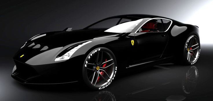 Ferrari 612 GTO.  If I couldn't have a  '65 Pontiac GTO, this would do I suppose...