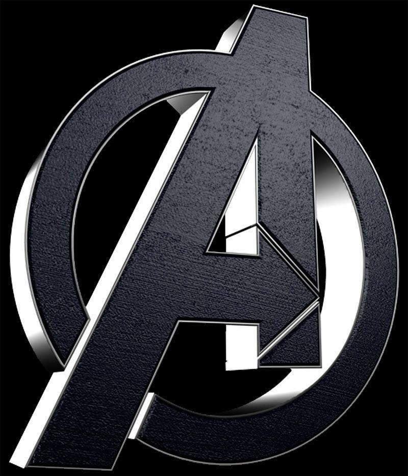 Camiseta los vengadores the avengers logo gris marvel - Avengers symbol wallpaper ...