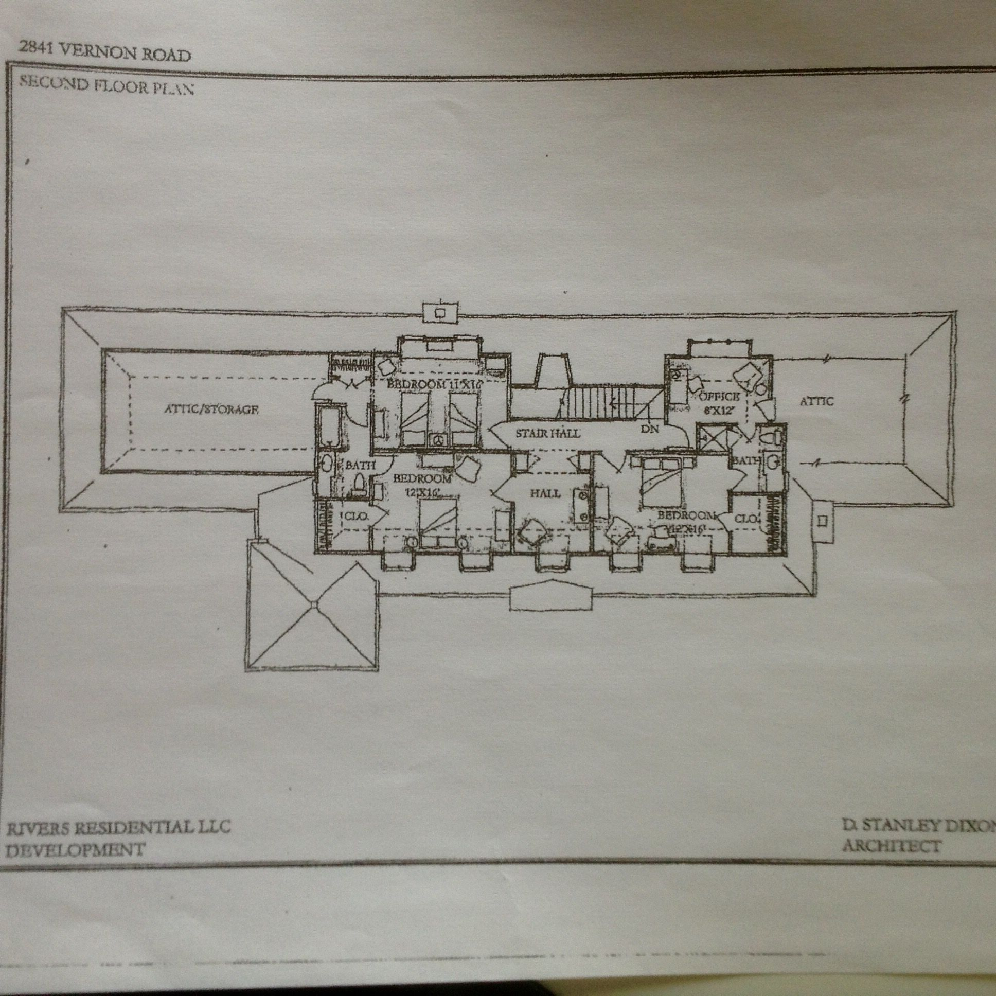 2841 Vernon Rd Nw Atlanta Ga Upper Level Luxury House Plans Floor Plans Facade