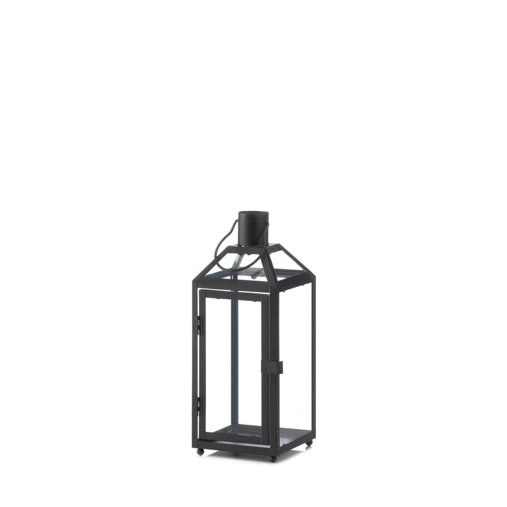Wholesale midtown small black lantern black lantern