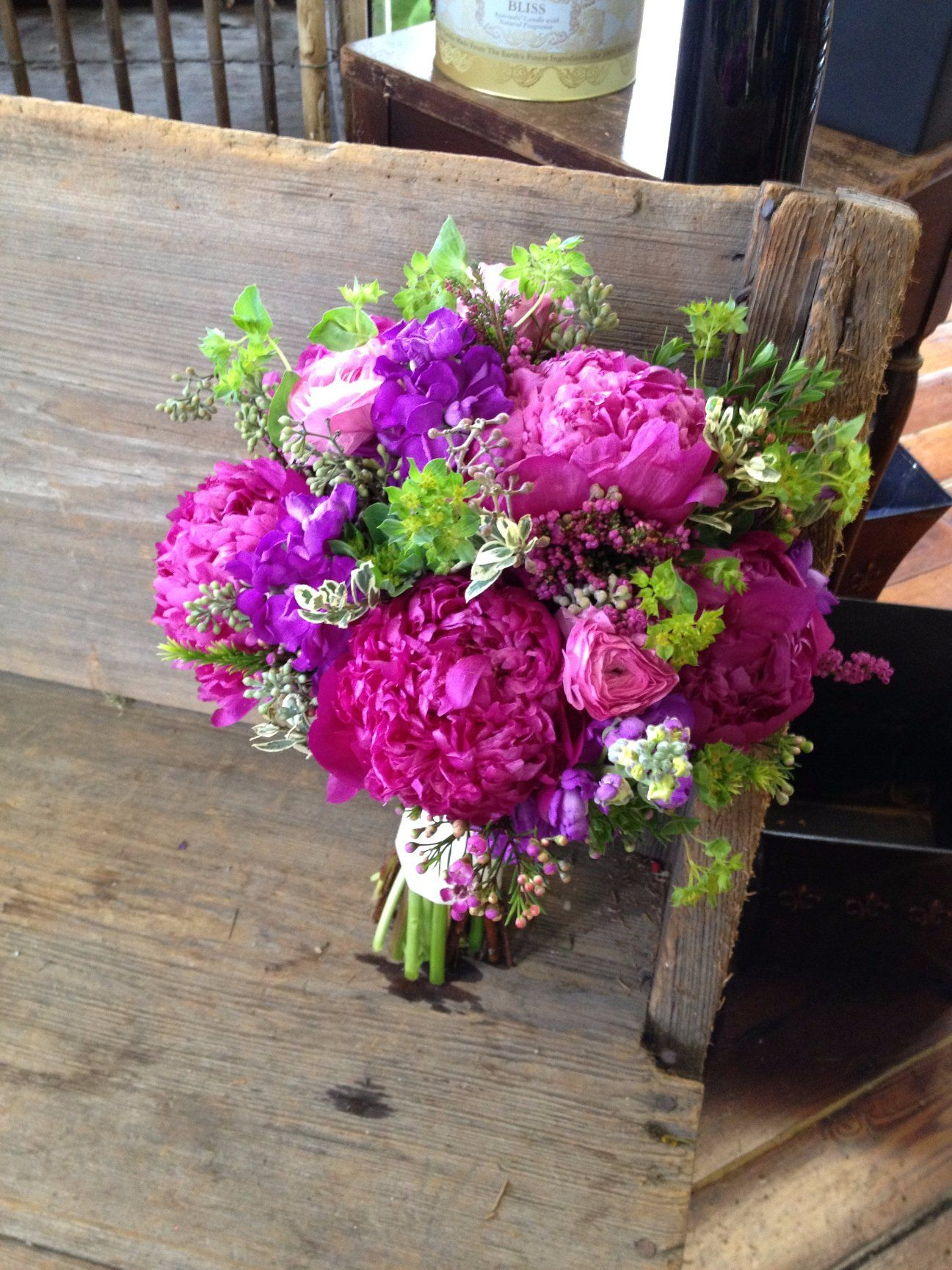 Pink Purple Peonies Colorful Bridal Bouquets By Nola Flora New Orleans Wedding Florist Www Nolaflora