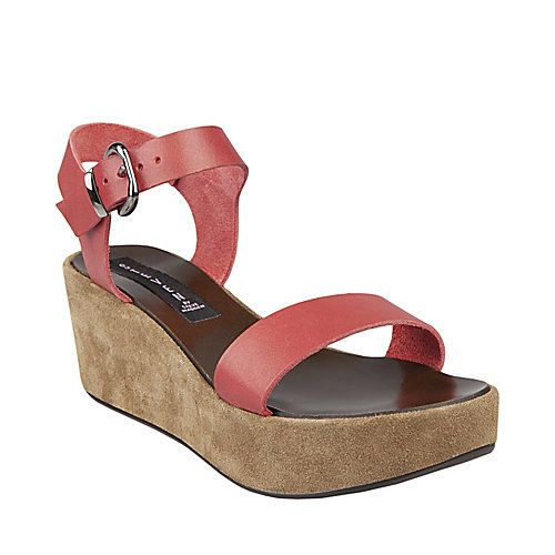 b790bd01891 ALISHAA CORAL LEATHER women's dress mid wedge - Steve Madden | Shoes ...