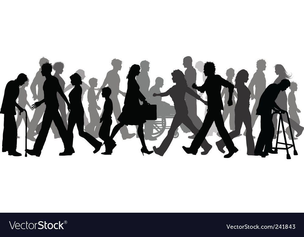 People Walking People Walking Png Vector Free Free Vector Images