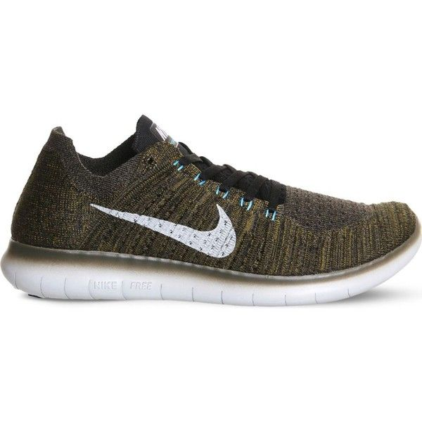 475e83a9f6b2d Nike Free Run Flyknit trainers ( 110) ❤ liked on Polyvore featuring men s  fashion