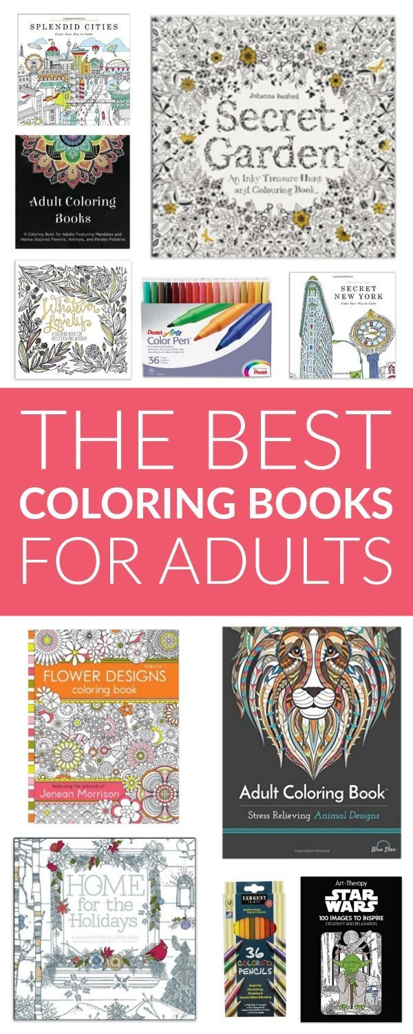 the best adult coloring books - Best Coloring Books For Adults