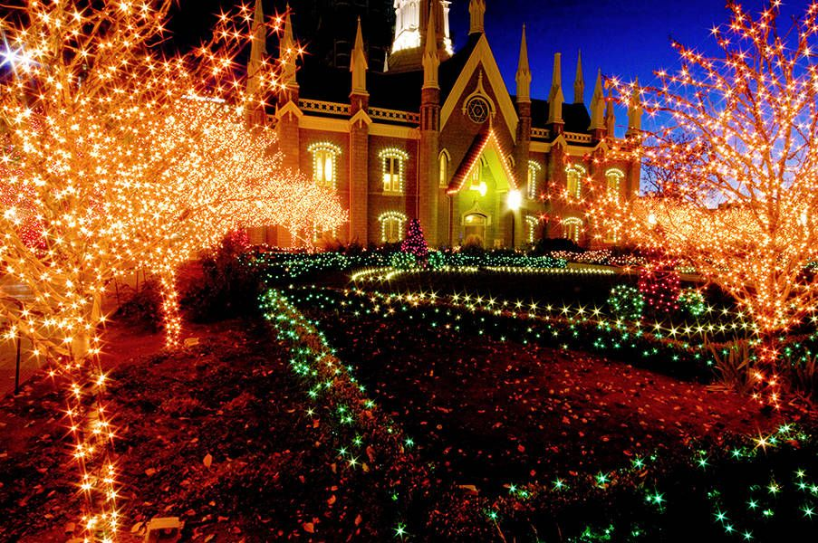 Salt Lake City Downtown Holiday Lights Salt Lake City Downtown Christmas Events Holiday Lights