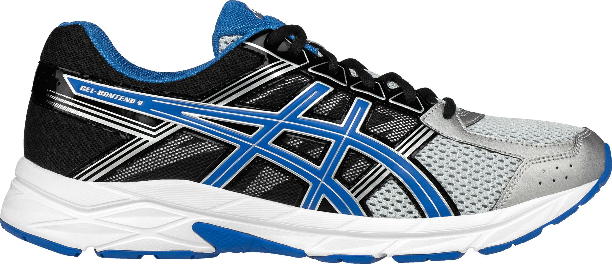 Asics Men's GELContend 4 Running Shoes, Size 9.0, Gray
