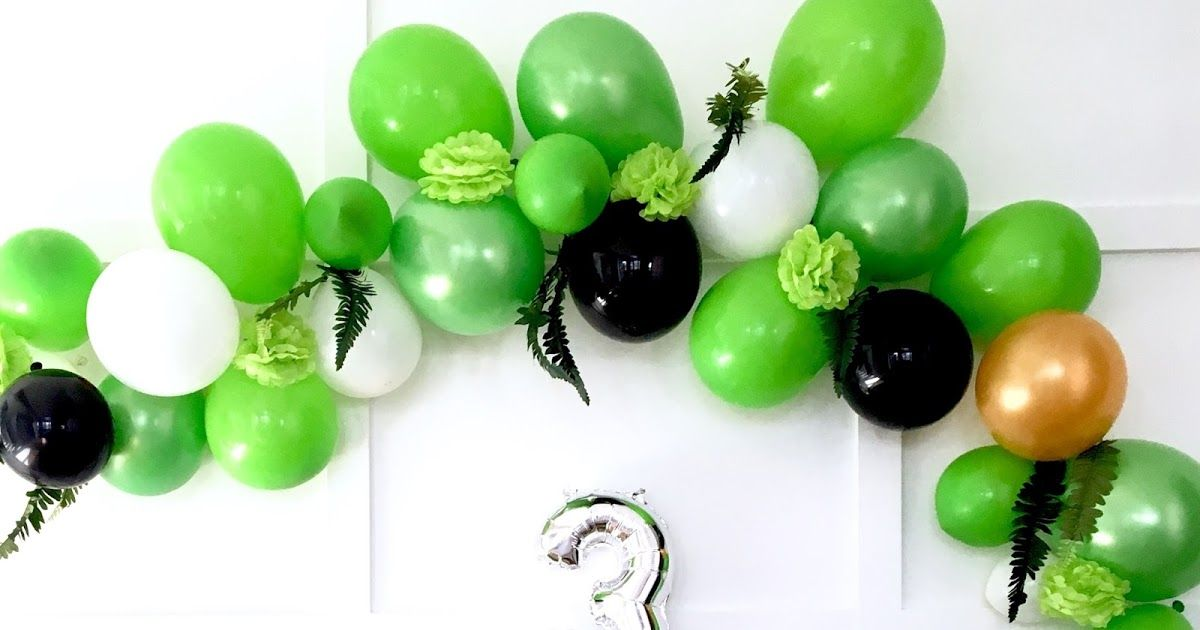Harlow thistle how to make a modern balloon arch