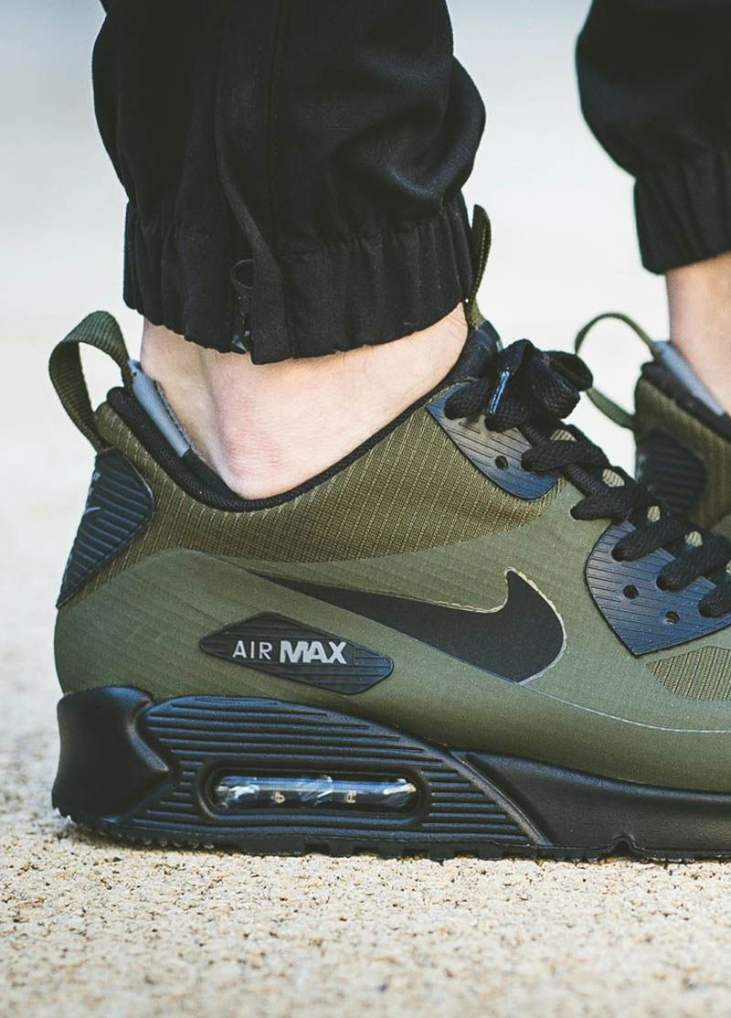 873a185e Dark Loden Mid Winter...the warmest NIKE Air Max 90 ever? | Kicks in ...