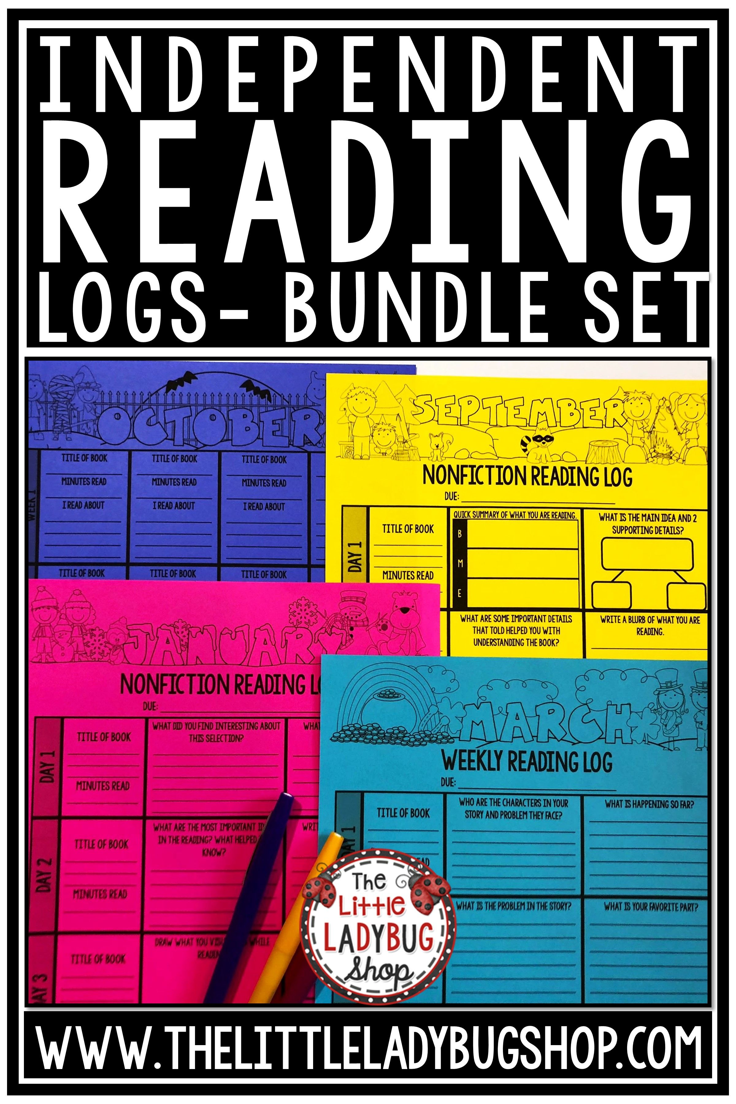 Distant Learning Packet Independent Reading Logs For