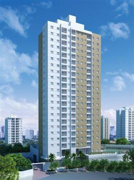 Perspectiva artística da fachada - City Life (São José dos Campos -SP)