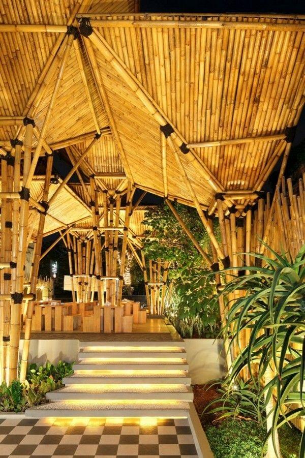 Beautiful Restaurant Design Restaurant Design Bamboo Restaurant