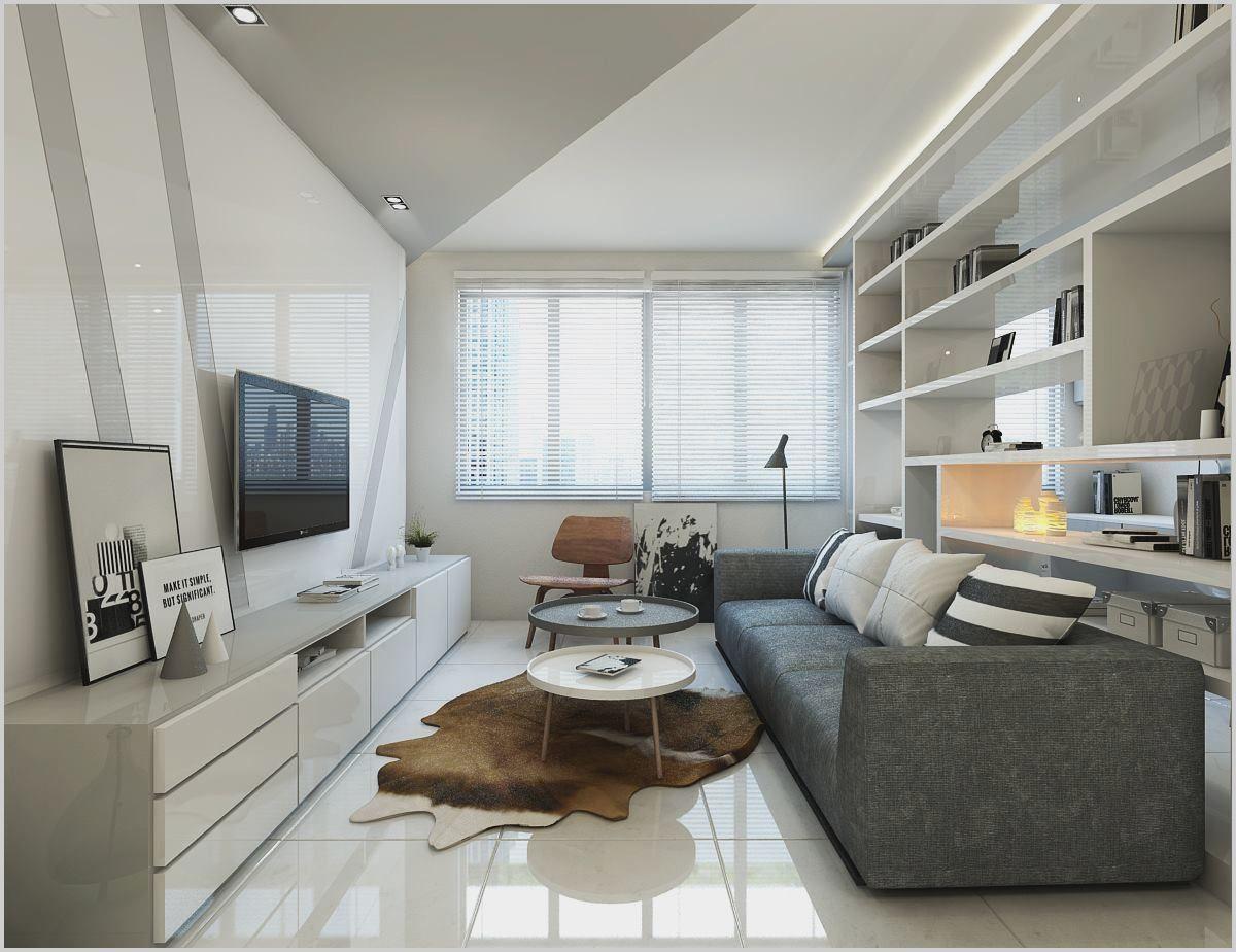 Interior Design Ideas 2 Bedroom Flat In 2020 Contemporary Living Room Design Narrow Living Room High Ceiling Living Room