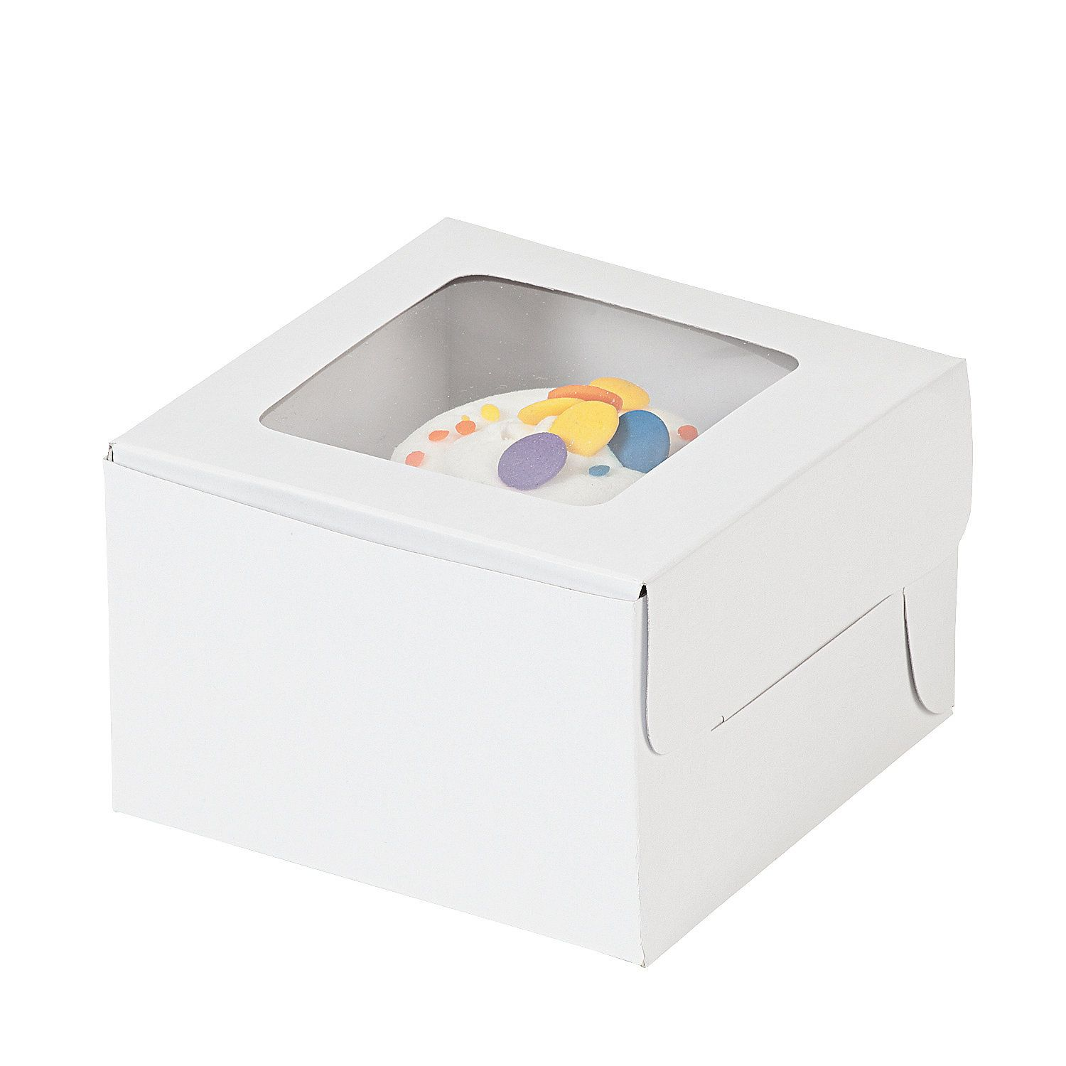 Cupcake Boxes | White cupcakes, Cupcake boxes and Favours