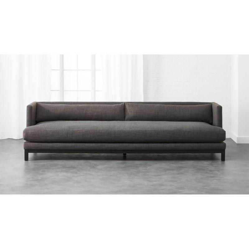 Brava Long Sofa Cb2 Long Sofa Modern Sofa Modern Sofa Couch