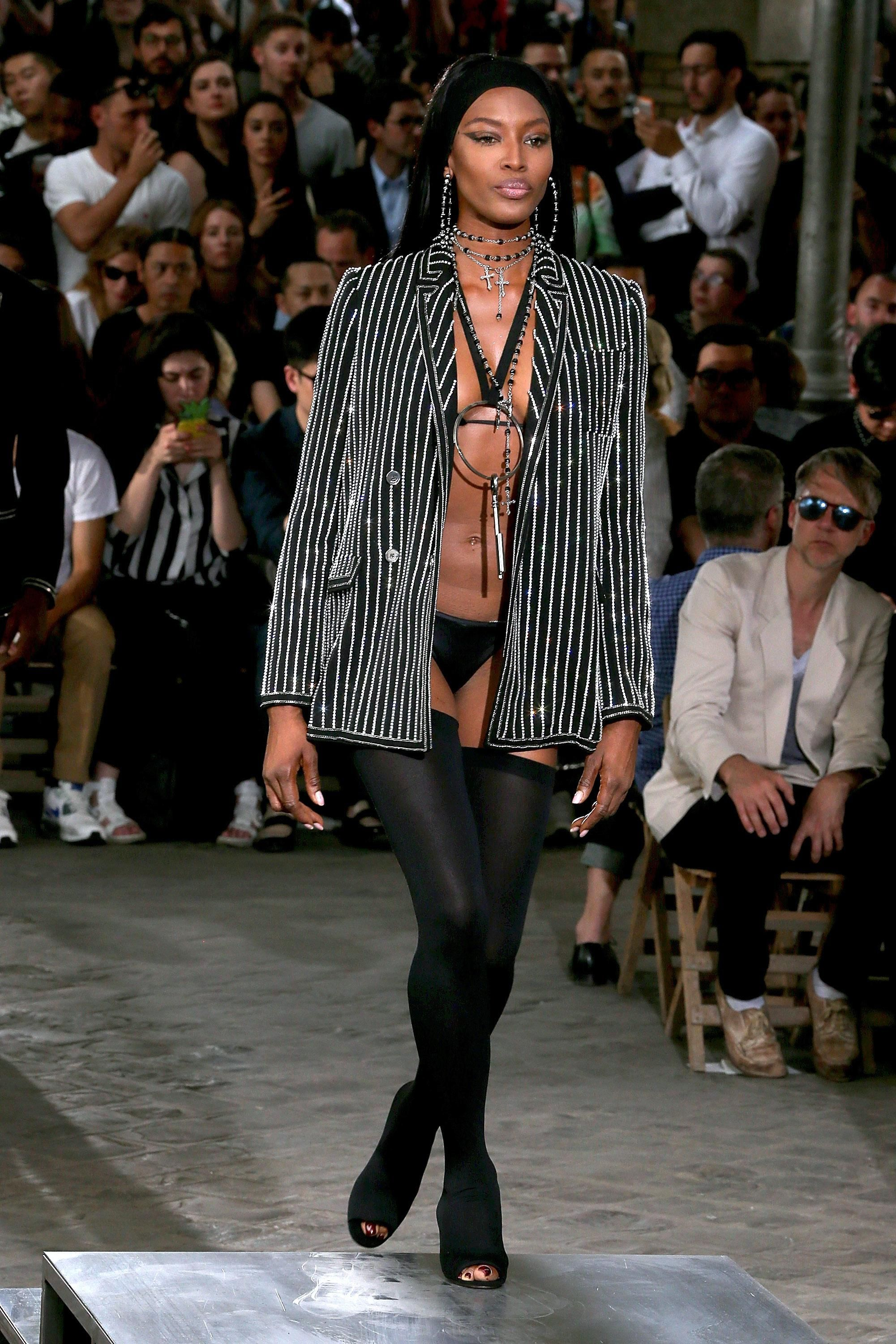 pictures Kendall Jenner and Naomi Campbell Walked in Givenchy's MenswearShow