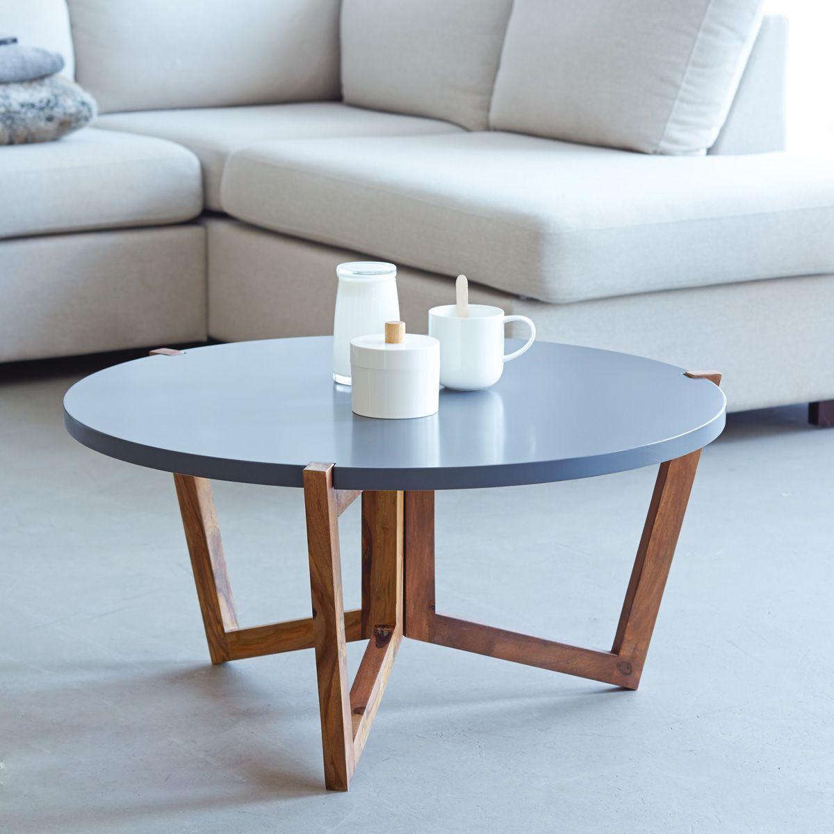 Sheesham Lounge Table Niels 80x80 Coffee Tables Coffee Table Table Tikamoon [ 1200 x 1200 Pixel ]