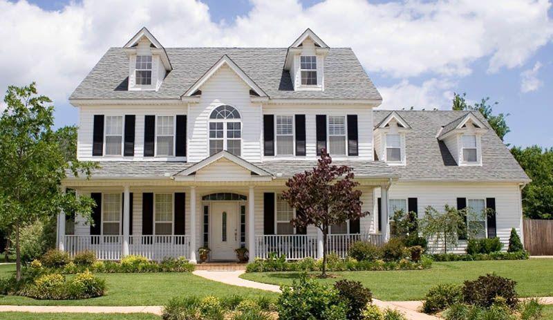 amerikanisches haus | architecture | pinterest | amerikanische, Moderne deko