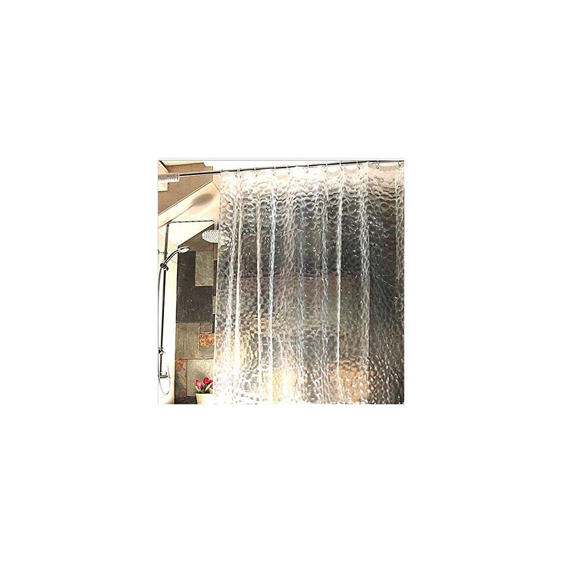 HomeIdeas 3d Cube Shower CurtainWaterproofMildew FreeShower