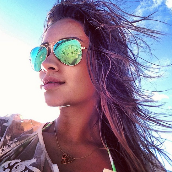 Shay Mitchell hits the sand in our Horizontal Diandra!