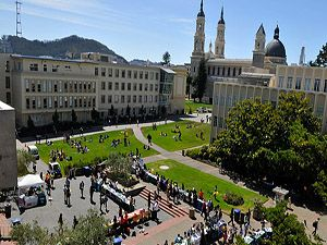 University of San Francisco - The Jesuit university of San Francisco, U.S.