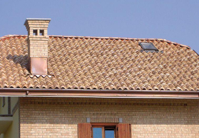 Interlocking Roof Tile Clay Tuscany Coppo