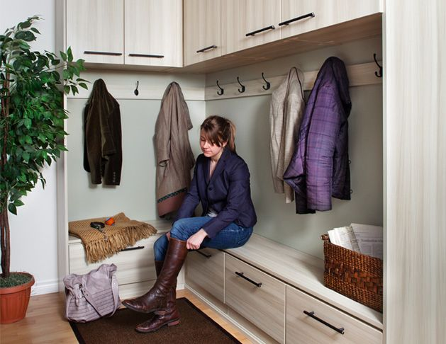 Delightful IDEA For Getting More Storage In Entranceway Simply Closets