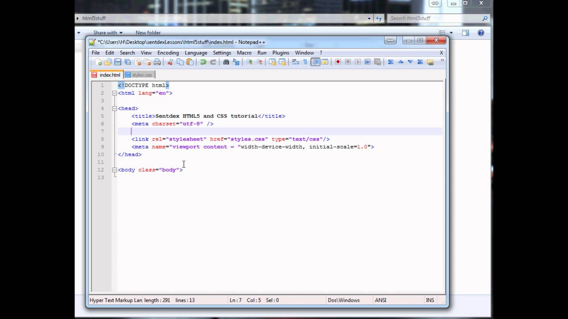HTML5 and CSS Web Design Part 1 (Django part 8): Starting our ...