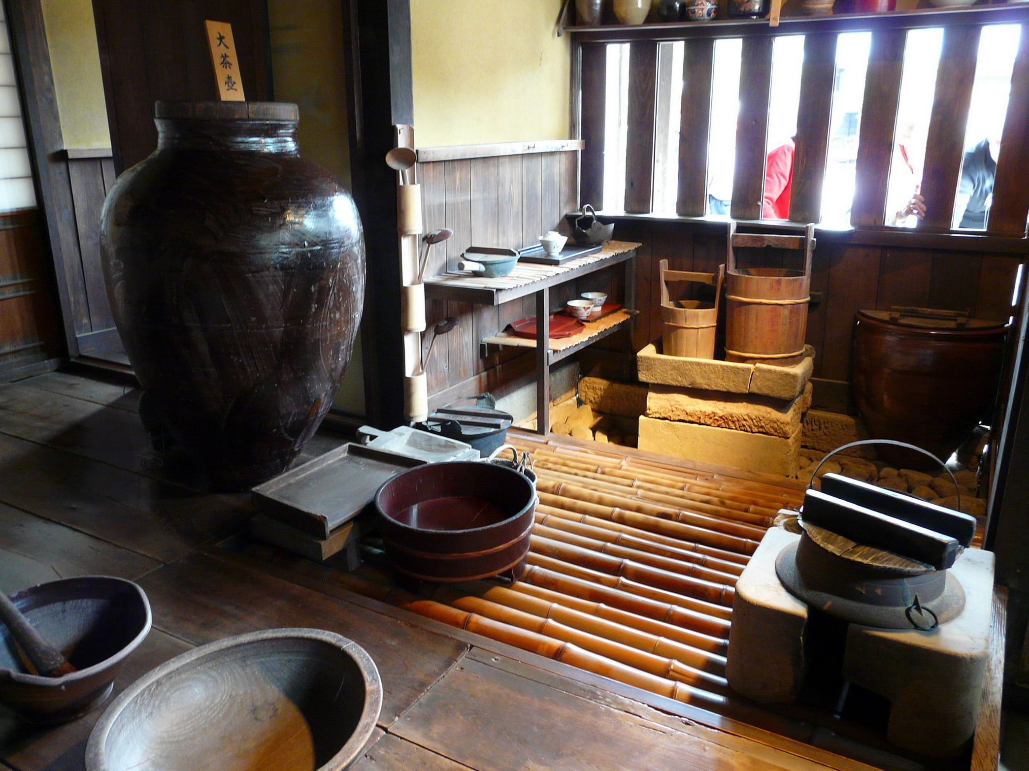 inside the kitchen of an old japanese samurai house with www toursgallery com japanese kitchen on kitchen interior japan id=85704