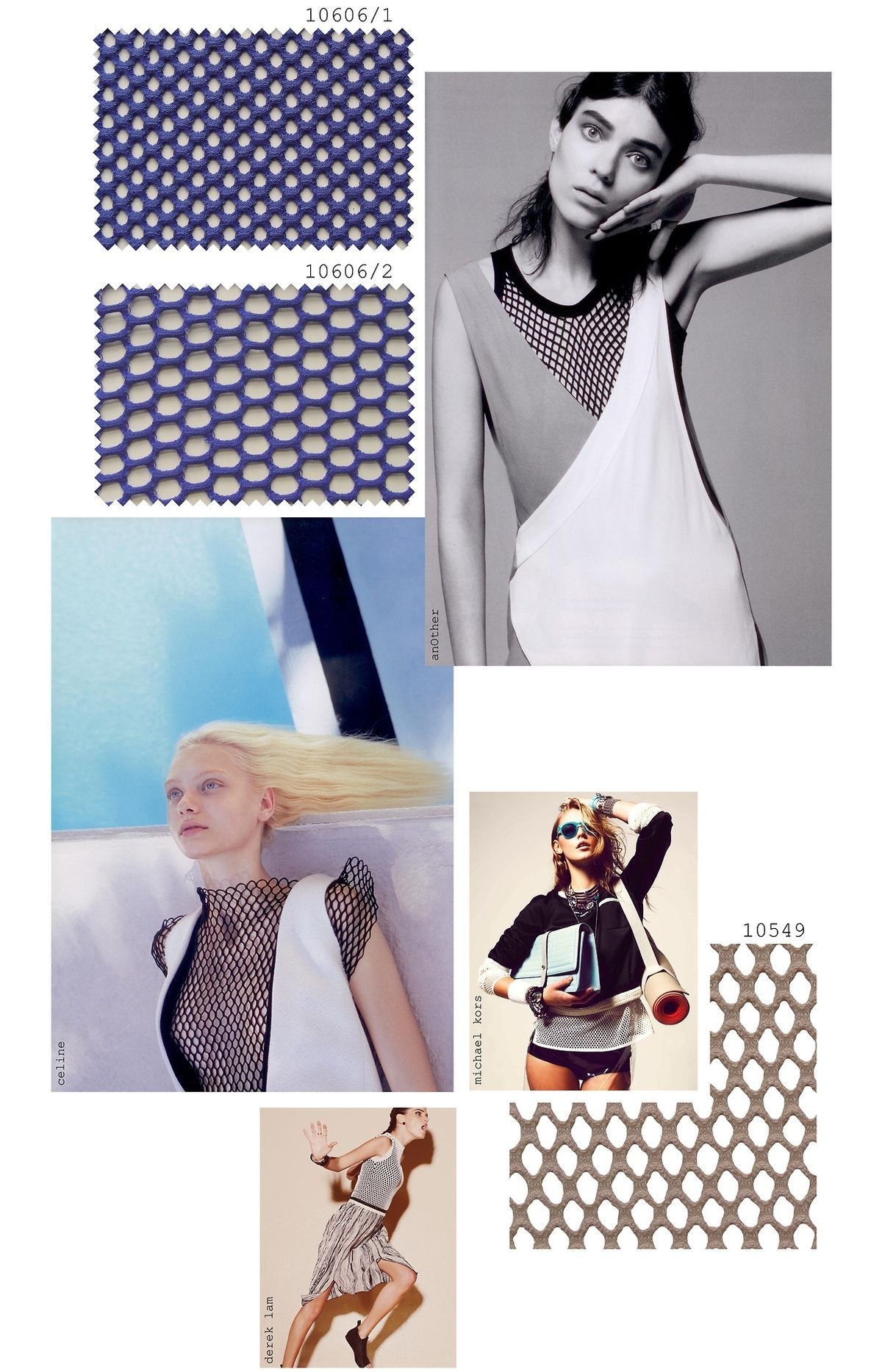Trend spring sports luxe mesh foto