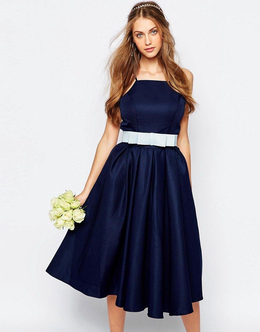 Chichilondonhighneckmidipromdresswithfullskirt dress shop chi chi london high neck midi prom dress with full skirt at asos ombrellifo Choice Image